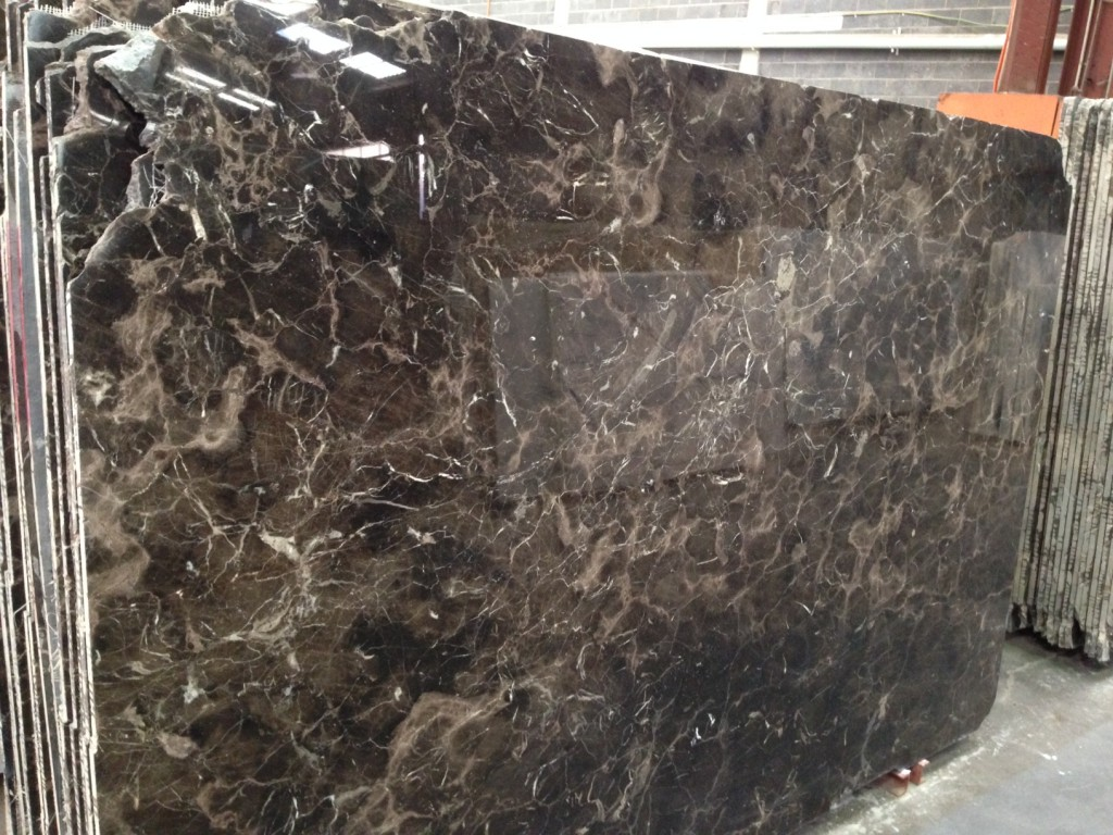 Satin Brown Dark Marble