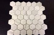 Carrara Marble Tiles Hexagon