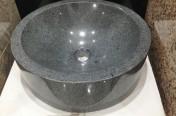 Grey Granite Round Sink 450 x 450