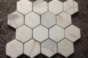 Calacatta Hexagon Tiles